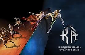 """Cirque du Soleil """"Ka"""" poster"""