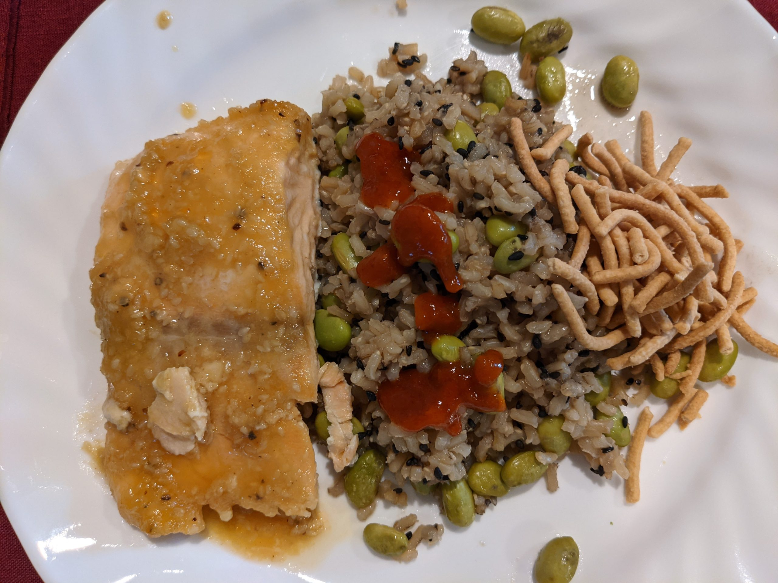 Header photo of salmon dish
